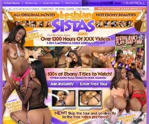Lesbian Sistas - the hottest ebony pornstars