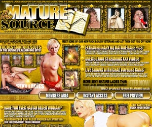 The Mature Source - Meet some of our new fuck and suck veterans and let them get you off now